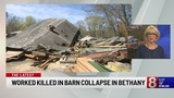 Officials identify victim of fatal barn collapse in Bethany