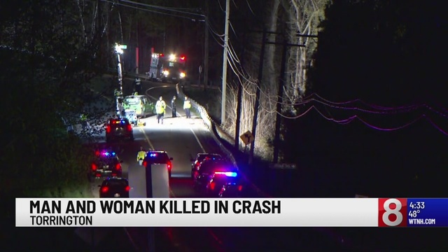 Two people killed in motorcycle collision in Torrington