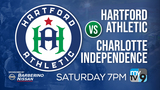 Sports Team 8 at first-ever Hartford Athletic home game of the season