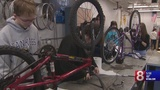 What's Right With Schools: Plainville High fixes bikes for citizens to use