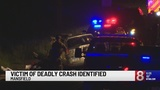 Victim of deadly crash on Route 195 in Mansfield identified