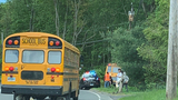 No injuries in school bus accident in Monroe