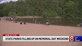 State parks fill up on Memorial Day weekend