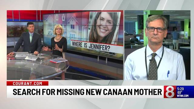 Hartford Courant: Search for missing New Canaan mother