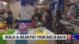 Build-A-Bear Workshop announces Count Your Candles Sweepstakes, Pay Your Age limited ticket offer