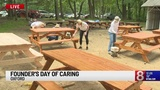 News 8's Founder's Day of Caring gives back at Girl Scout's Camp AnSeOx in Oxford